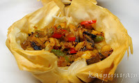 Fish Phyllo Cup