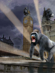 Stupid king kong invaded the city