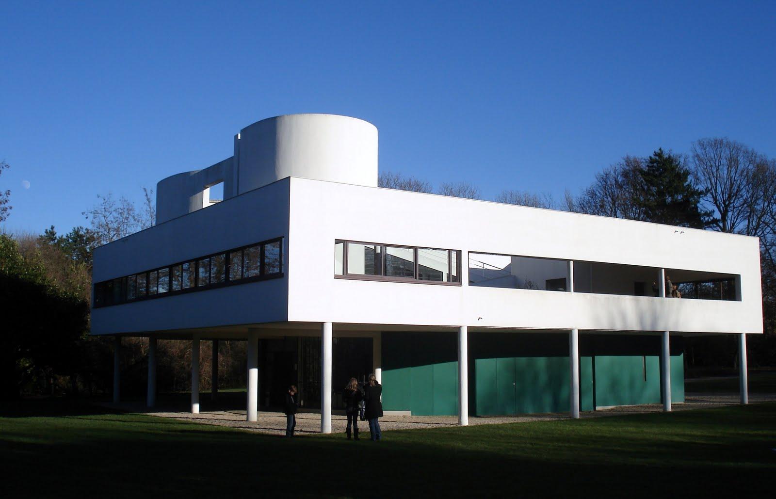 Kaki afonso arquitetura villa savoye le poissy fran a - Le corbusier casas ...