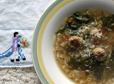 Traditional Italian Wedding Soup Can Easily Be Made Vegetarian Style