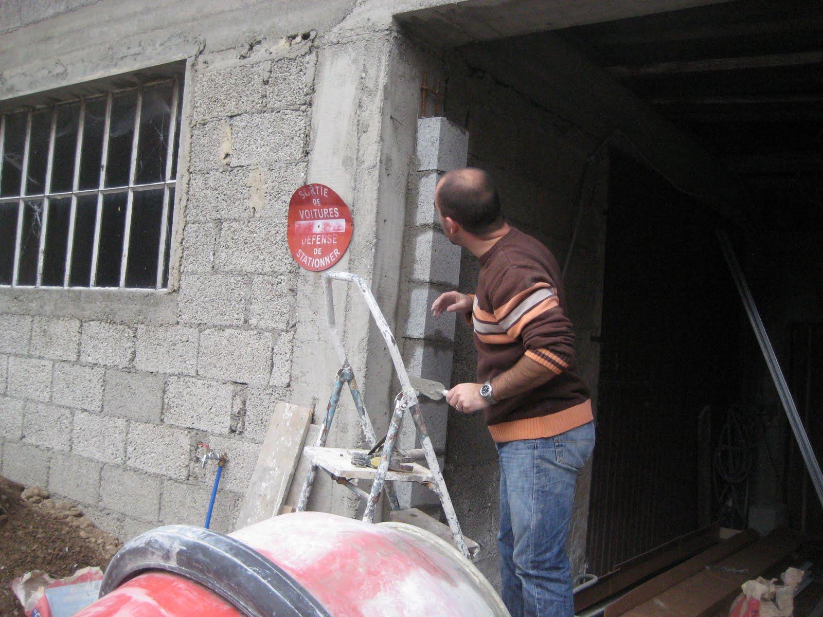 Notre petit coin de paradis porte de garage - Monter une porte de garage sectionnelle ...