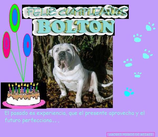 cumpleaños de Bolton