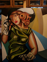 Lucky B Designs painting @ level 4 paso robles