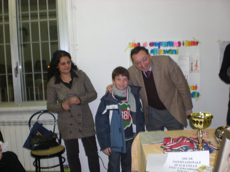 Oscar Int. Artisti e Scuole contro il BULLISMO 22a Ediz. 2010!