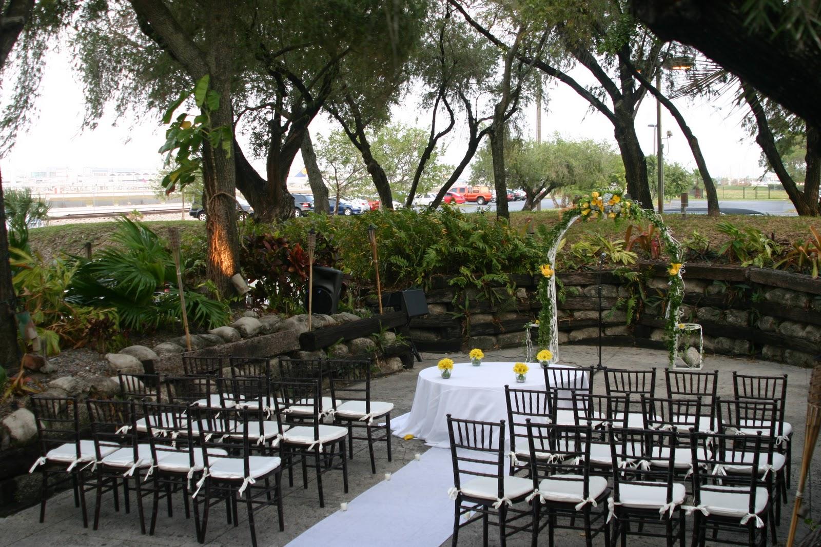 94th Aero Squadron Miami Outdoor Ceremony