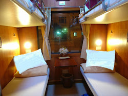 Business Train Cabin