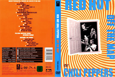 VIDEOS MUSICALES EN DVD: RED HOT CHILI PEPPERS - OFF THE MAP on