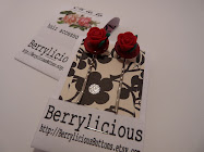 Gorgeous Berrylicious Hair Slides
