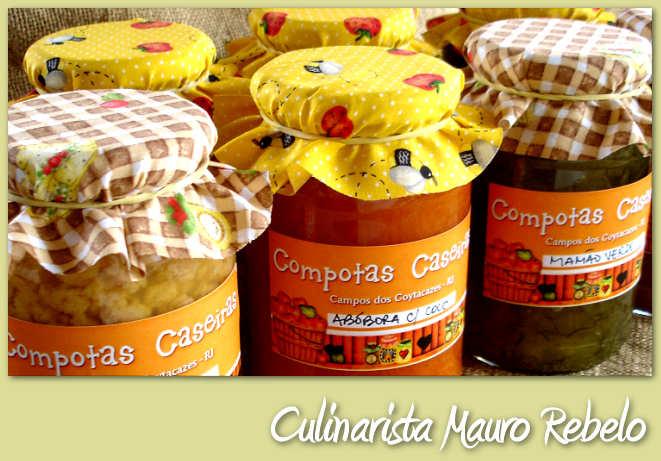 Compotas Caseiras Campos dos Goytacazes