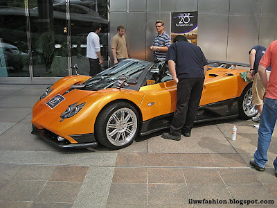 Pagani Zonda F, Roadster, motor expo, gallery, pictures oraange, Roadster, Zonda