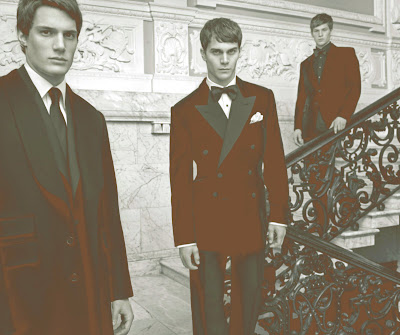 Gieves & Hawkes AW08, suits, best fashion blog, male models, Savile Row, male models