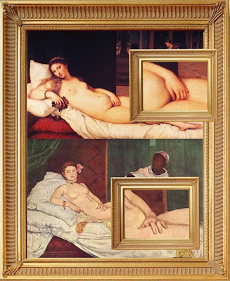 Manet's Olmypia and Titian's Venus of Urbino