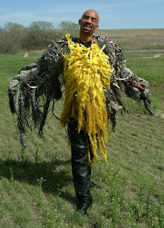 [Meadowlark garment on the prairie.]