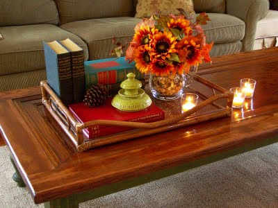 who would 39 ve thought how to decorate a coffee table. Black Bedroom Furniture Sets. Home Design Ideas