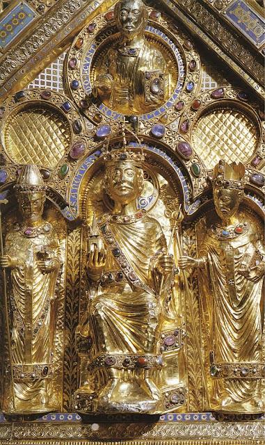 Urna de Carlos Magno, Aix-la-Chapelle