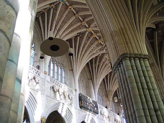Catedral de Exeter, Inglaterra