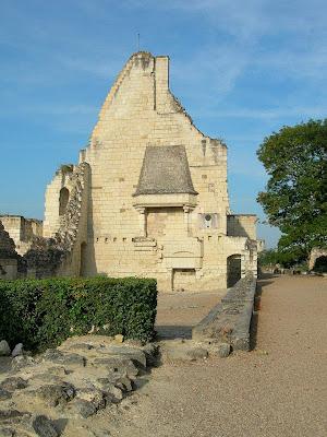 Chinon, sala do encontro de Carlos VII com Santa Joana d'Arc, castelos medievais
