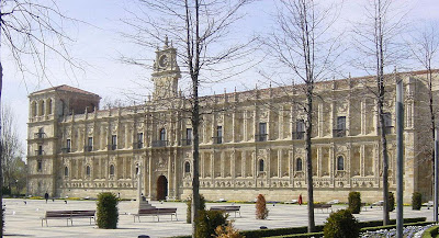 León, Parador San Marcos, para peregrinos. A cidade medieval