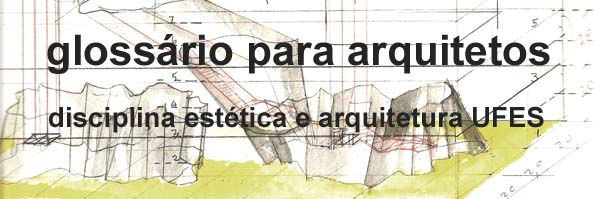Glossário para arquitetos