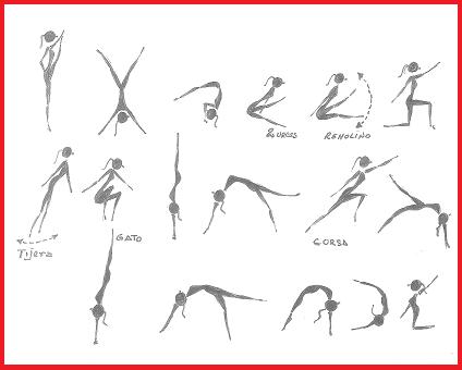 Gymnos gimnasia serie de ejercicios en gimnasia for Ejercicios de gimnasia