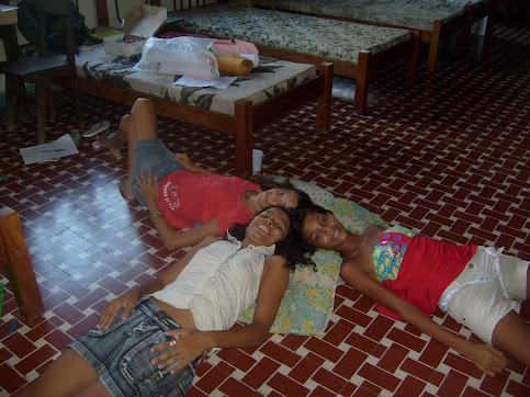 A atual Coordenação de Adolescentes e Crianças do MAC em 13/03/2009