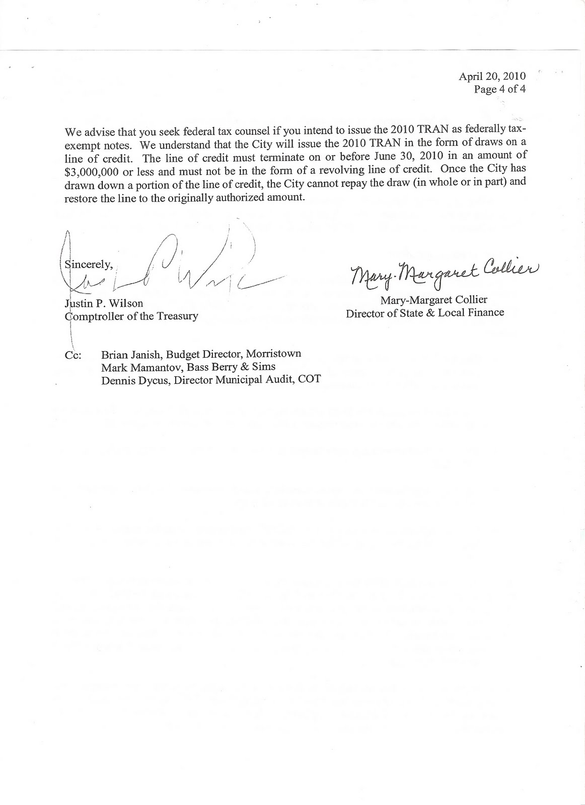 letter to mayor barile on city 39 s violations of state law and audit
