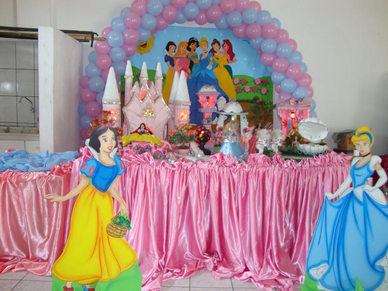 Seis Princesas Castelo Rosa