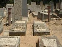 חלקות הקברים של משפחת בן שלום בבית קברות הנצח רמת השרון
