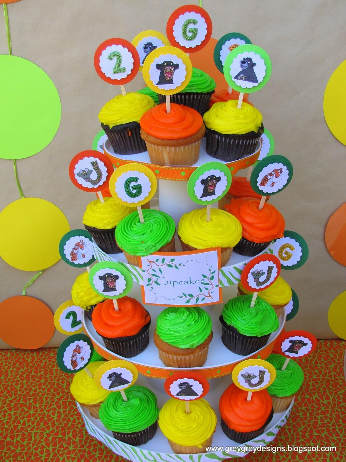 Greygrey Designs Grant S Jungle Book 2nd Birthday Party