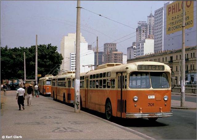 Trolébus - Estação BH - 1963