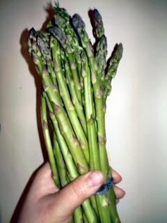 Asparagus $2.50