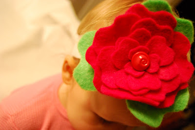 DIY Felt Flowers | Baby Headbands