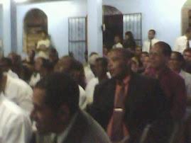 Rajada de Gloria na Casa da Benção em Macaé.