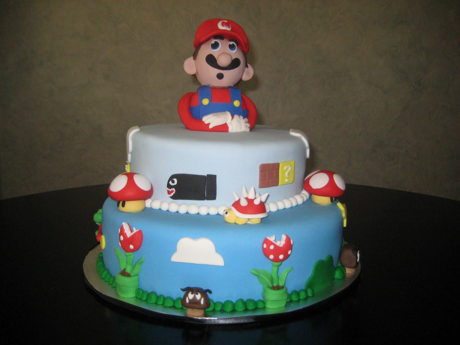 Mario Brother Cake Images : Taryne s Tasty Treats: Super Mario Bros. Cake