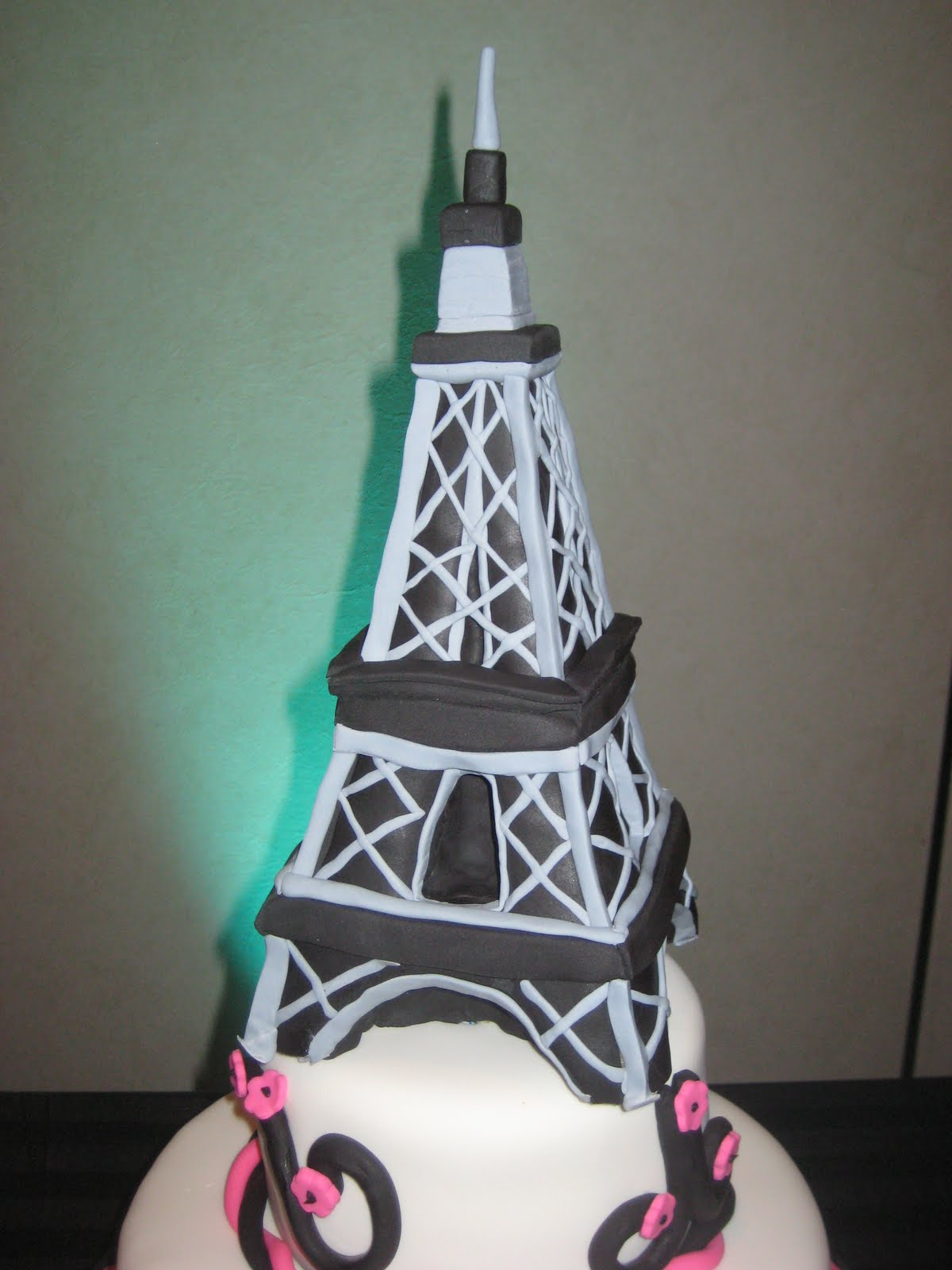 Paris Cakes For Bat Mitzvah