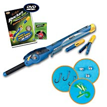 Products you have seen on tv rocket fishing rod for Rocket rod fishing pole
