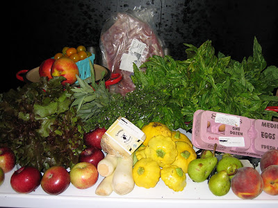 CSA Week 14 Haul. October, 2008. photo Jenonymous/Group News Blog.
