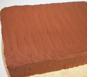 Crunchy Milk Chocolate–Peanut Butter Layer Cake