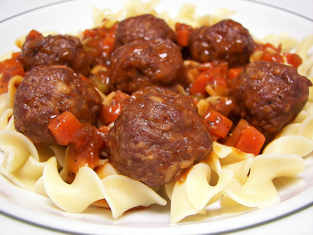 Hungarian Meatball Stew (Adapted from Rachael Ray)