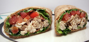Chicken Bacon Wrap or Roll Up