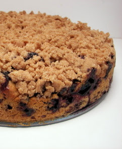 Vegan Blueberry Buckle