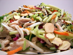 Asian Chicken Slaw Picture