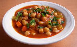 Moroccan Chickpea Chili