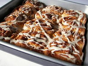 Coconut-Vanilla Cinnamon Rolls