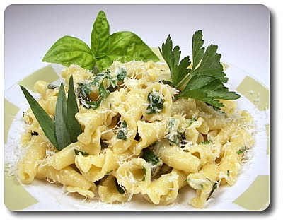 Culinary in the Desert: Pasta with Spring Herbs