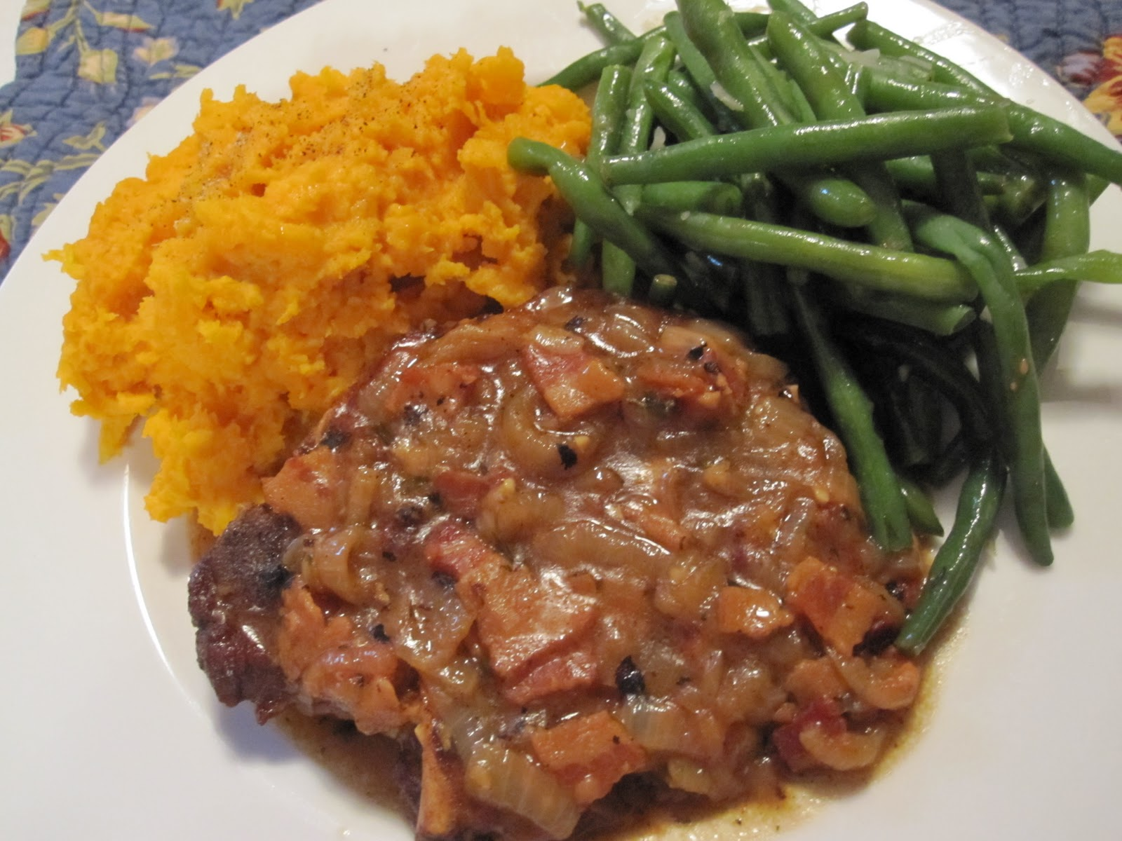 passionate perseverance tasty tuesday smothered pork chops