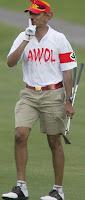 Ofascist golfed, terrorists wolfed
