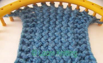 Slip Stitch Knitting Edge : Loom Knitting: Slipped Stitch Edge
