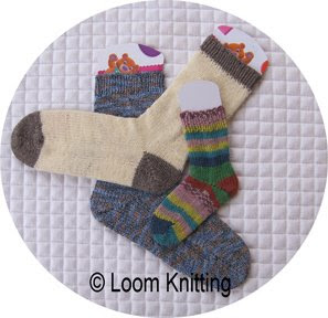 Free Knitting Pattern For Baby Headband : Loom Knitting