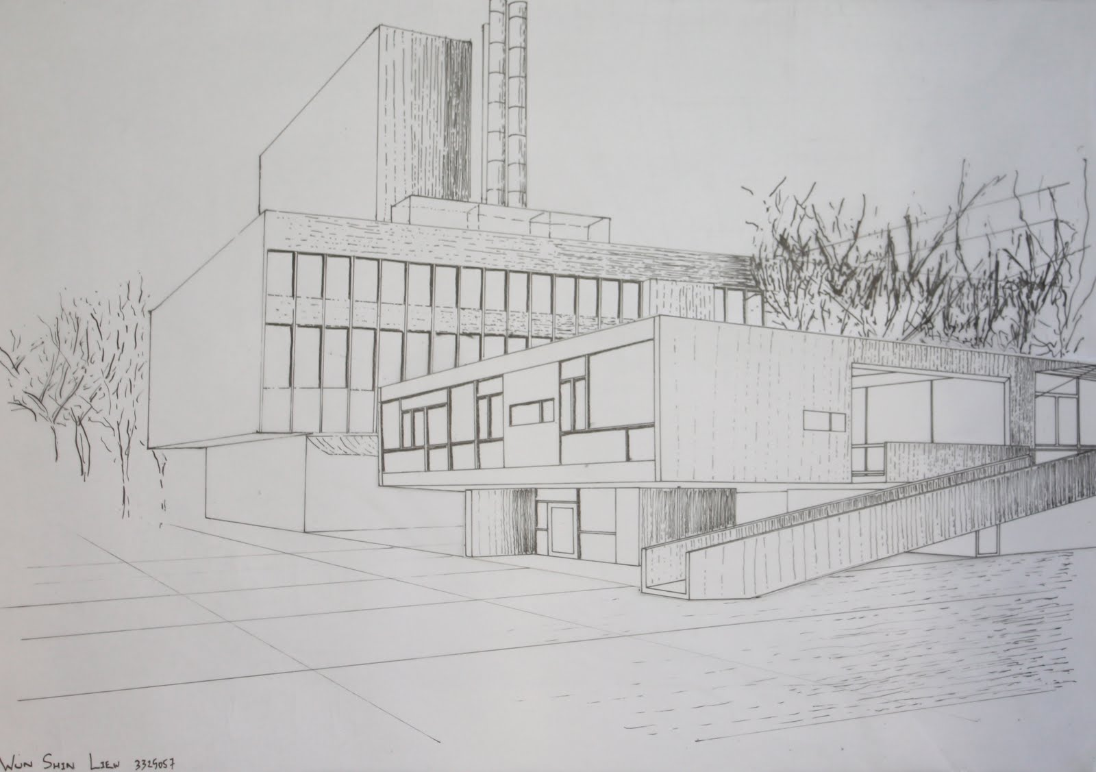 wun shin liew 2nd workshop architectural drawing rose seidler